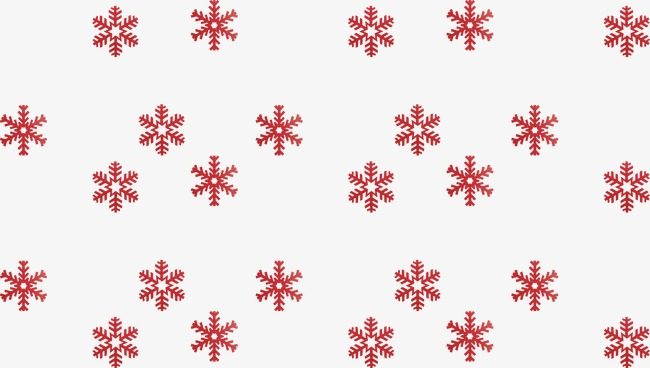 Copo De Nieve Copo De Nieve Rojo Invierno PNG Y Vector