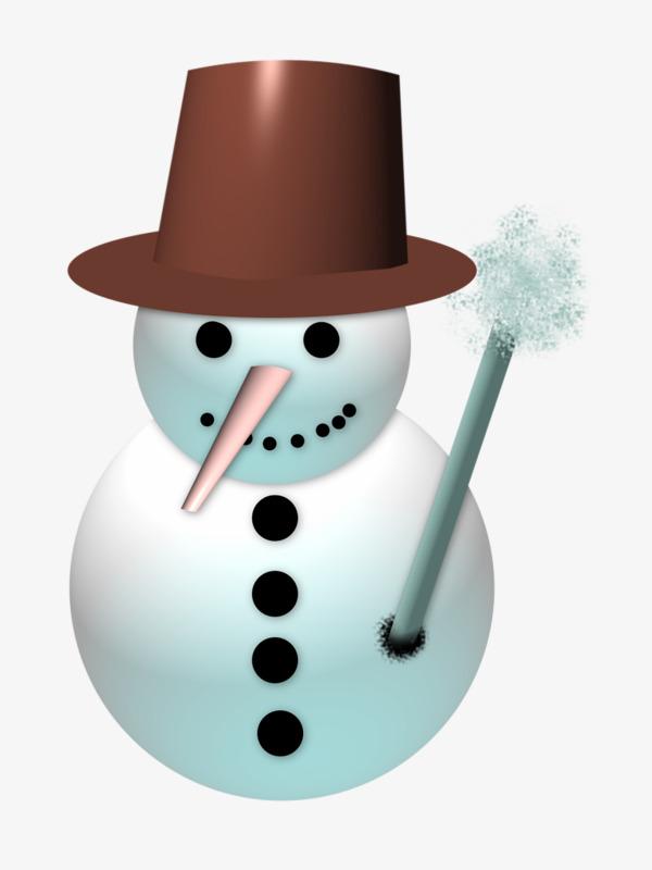 Der Schneemann Handbemalte Der Hut Der Schneemann PNG Bild und ...