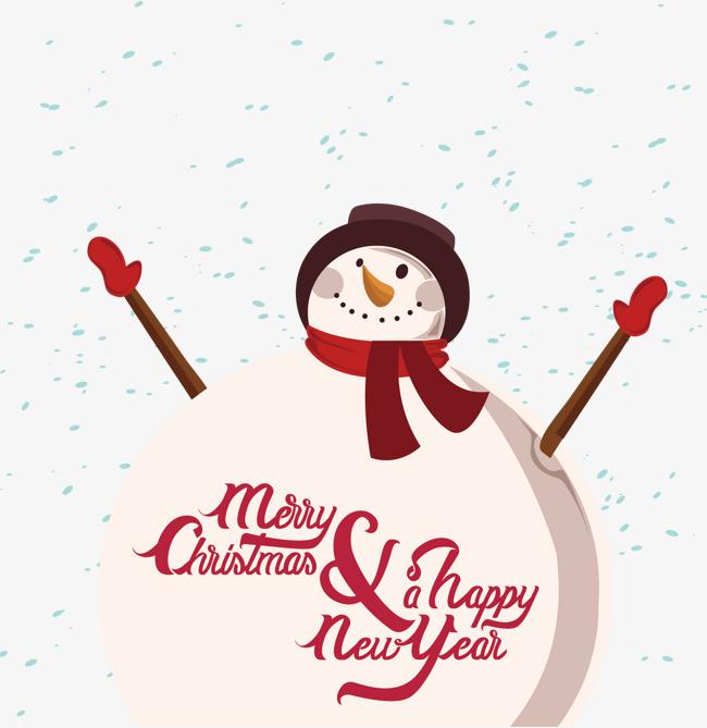 Bonhomme Graphique le bonhomme de neige graphique vectoriel dessin peint à la main