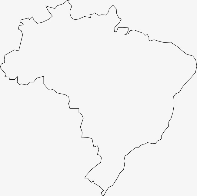 South America Map Map Clipart Land Contour Image And Clipart