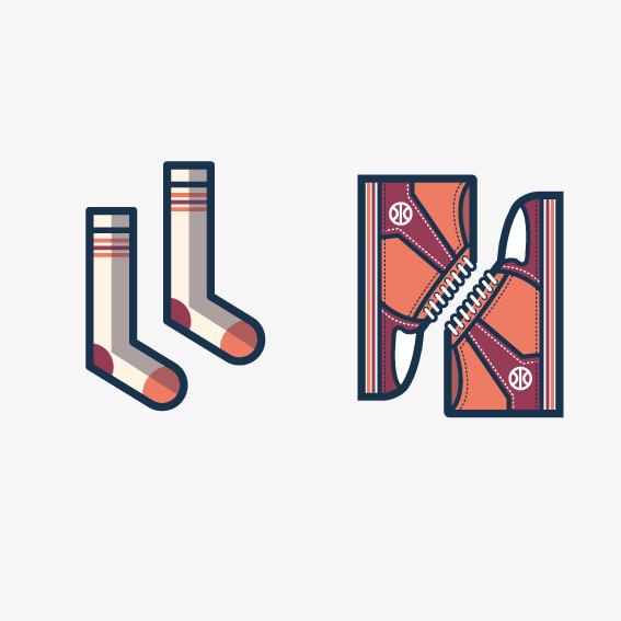 Und Zum Sportartikel Sportbekleidung Socken Sportschuhe Png Vektor rxTqIFYTW