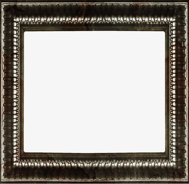 Square Metal Frames, Frame, Metal, Retro PNG Image and Clipart for ...