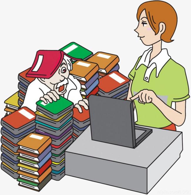 un tas de livres carnet dessin femme image png pour le