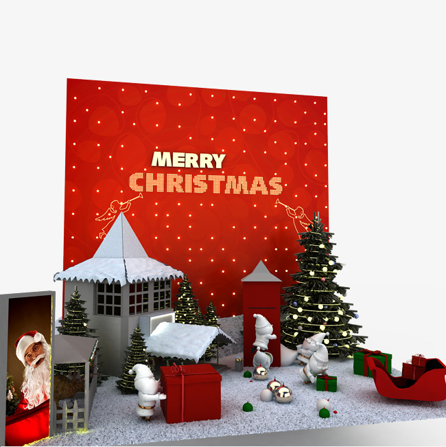 Stage Props Christmas Hd Photo Stage Clipart Creative Christmas