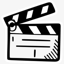 Des bonshommes de films de plateau de jeu br ve de traits - Clipart cinema gratuit ...