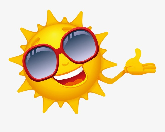 Sun Sunglasses, Sun, Sunglasses, Cartoon PNG Transparent ...