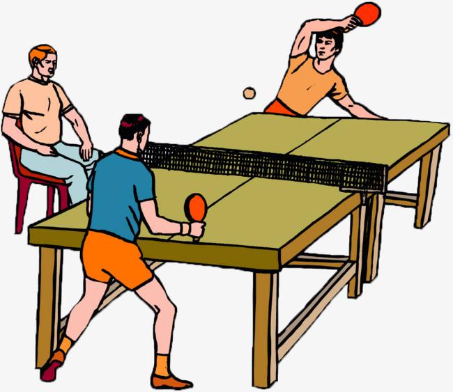 Png - Dessin tennis de table ...