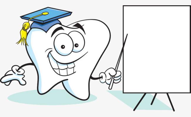 Gigi Dan Lukisan Lembaga Gigi Papan Lukisan Kartun Imej Png Dan