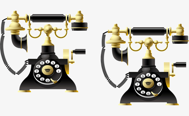 Telephone Decoration Design Pattern Telephone Vector Decoration
