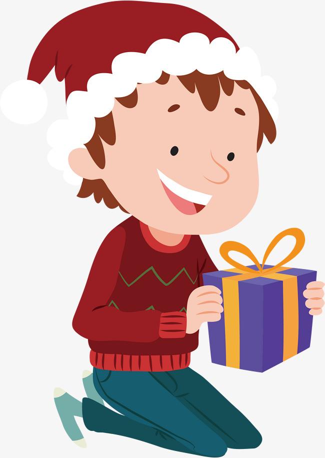 Рисунок мальчик дарит подарок девочке