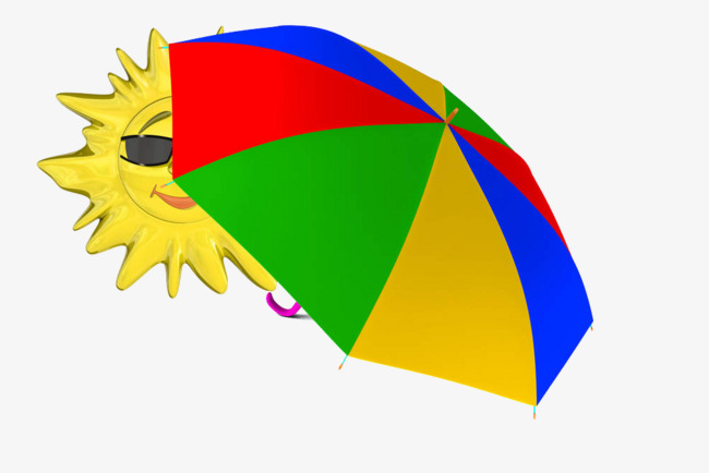 The Sun Blocking Umbrella Summer Sandy Beach Png Image And Clipart