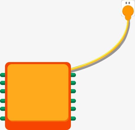 Three Dimensional Cartoon Electrical Plug Cartoon Clipart Cartoon