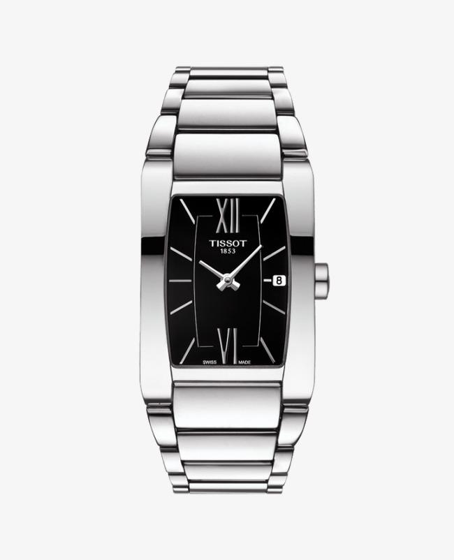 3b3c9df4955 Tissot Watches watches Ladies relojes de plata negro Gratis PNG y Clipart