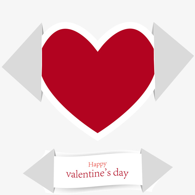 Valentine S Day Greeting Cards Vector Exquisite Red Love Love
