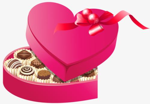 Regalo De San Valentín Regalo Regalo Chocolate Imagen PNG