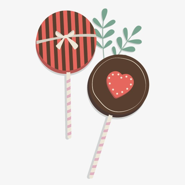 Valentine Lollipop Candy Valentine S Day Lollipop Png And Vector
