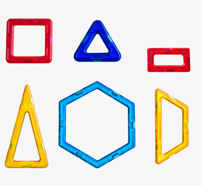 Various Shapes Of Magnetic Toys, Shapes Clipart, Toys ...