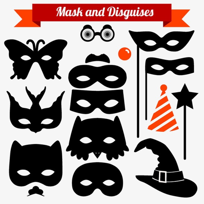 Diversos Modelos De Máscaras Estilos Diferentes A Máscara Máscara