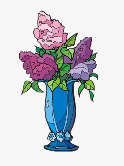 Des Fleurs Dans Un Vase Sans Creuser De Materiau Photo Dessin