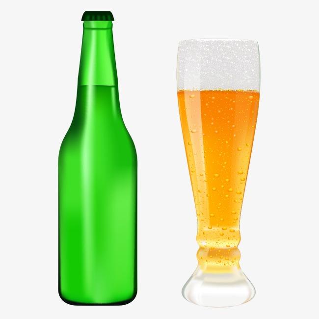 Vector De Cerveza Cerveza Botella Licor Png Y Vector Para Descargar