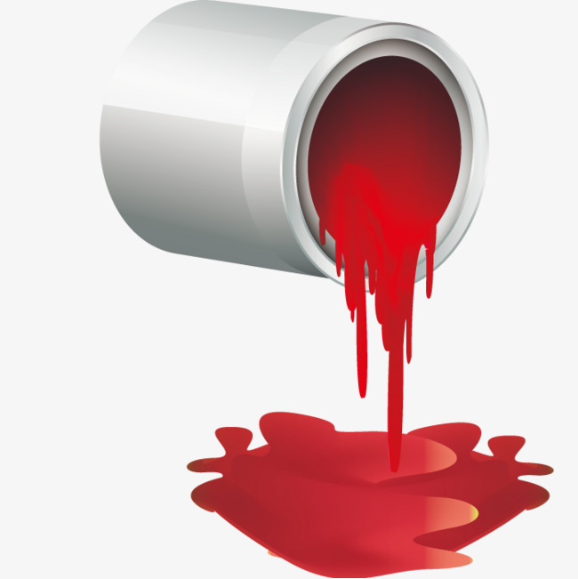 l empreinte de vecteur de pot de peinture colorants coloration couleur png et vecteur pour