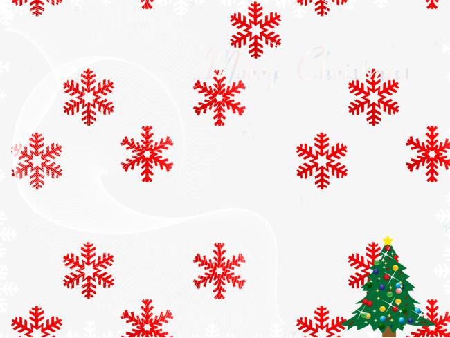 Copos De Nieve Rojos Png