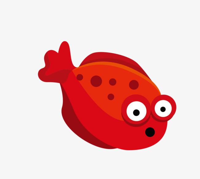 poisson rouge en mati u00e8re de vecteur de dessin en mati u00e8re