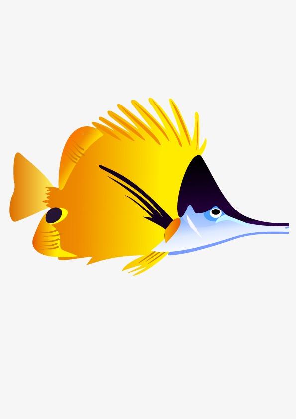 Fische Fisch Salamander Die Gelben Fisch PNG und Vektor zum ...