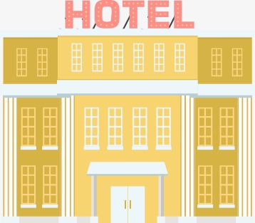 Vector Flat Hotel Vector Flat Hotels Png And Vector For Free Download
