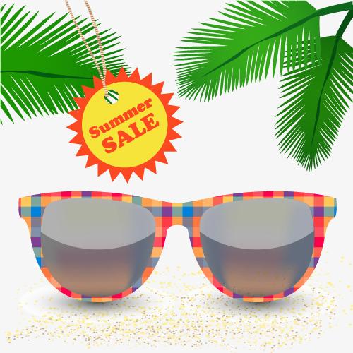 вектор очки очки пляж листья PNG и вектор для бесплатной загрузки fc3fd066fd5