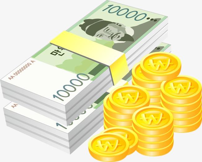 Vector De Oro Billetes Vector Oro El Dinero De Papel PNG Y