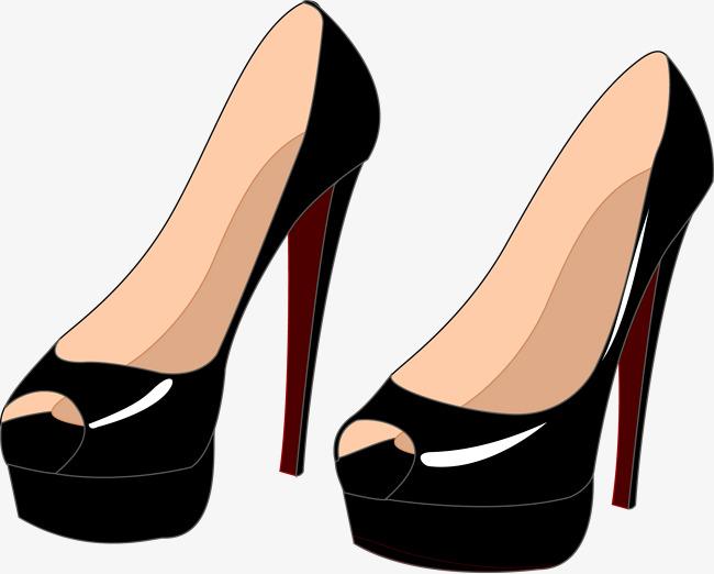 le vecteur de talons des chaussures  u00e0 talons hauts