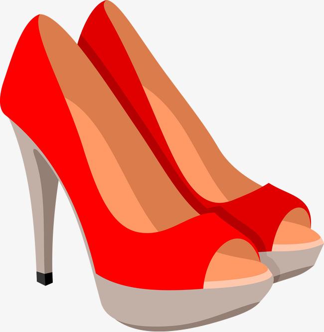 Vector PNG y Zapatos tacones Rojos Alto Vector Tacon De Vector Zapatos vUqw87
