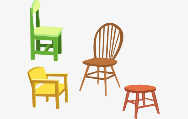 Vector Household Furniture Home Supplies More Chairs Vector