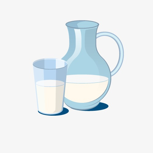 vector milk bottle hd vector blue png and vector for free download