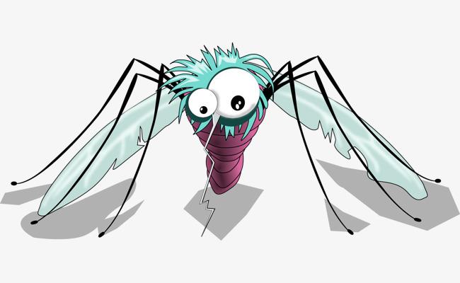 Картинка смешных комариков