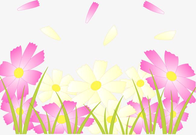 Vector Pintado De Flores De Color Rosa Vector Pintado A Mano Flores