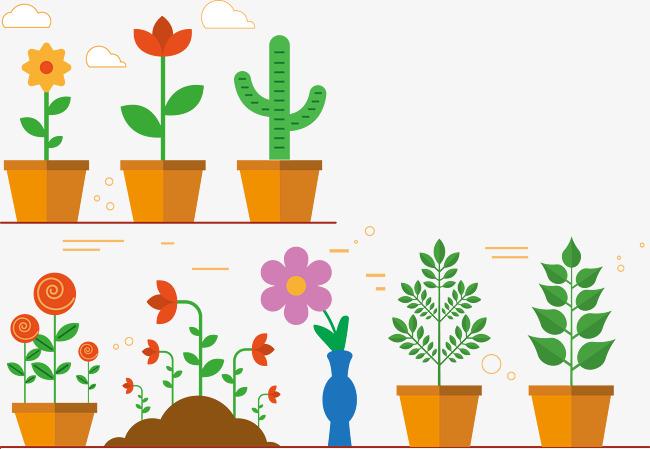 Pot De Vecteur Pot Graphique Vectoriel Pot De Fleurs Png Et Vecteur
