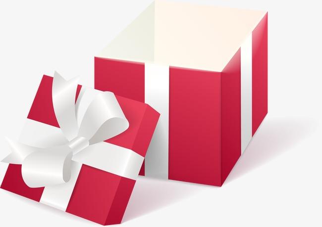 Vector rojo caja de regalo regalo regalo regalos png y for In regalo gratis