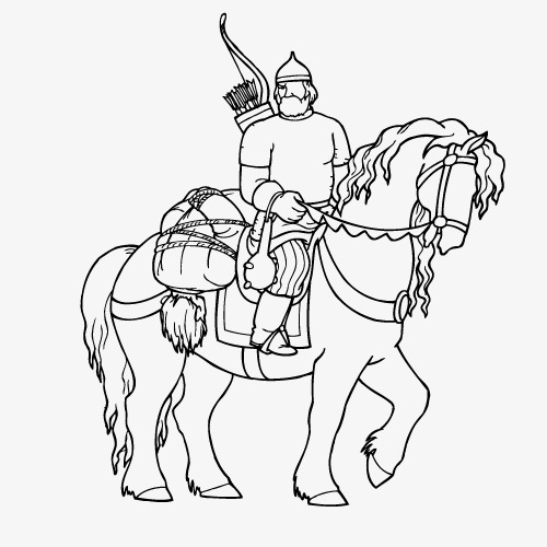 vector roman knight  ancient rome  knight  horse png and