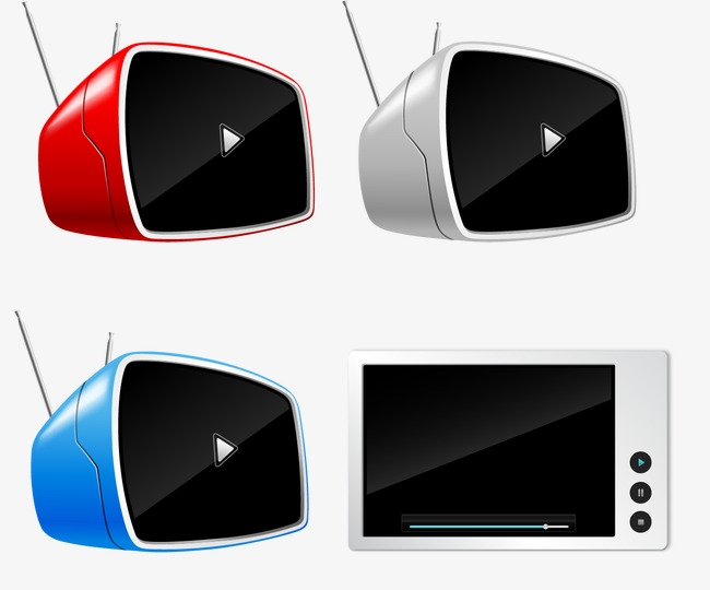 Vector Tv Tv Set Watch Tv Antenna Png And Vector For Free Download