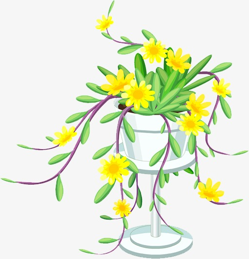 Vine Vine Clipart Yellow Flower Image And Clipart For Free