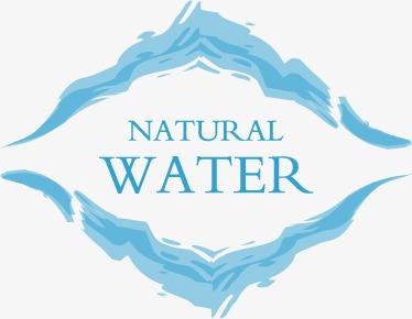 Agua Vector Material Pura Agua Natural Gota De Agua Logo Logotipo De