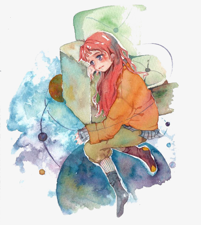 0d496f6b53abc This image is free for Personal use. By joining our premium plan, you can  unlimited download similar images. click here. watercolor girl, Watercolor  Clipart ...