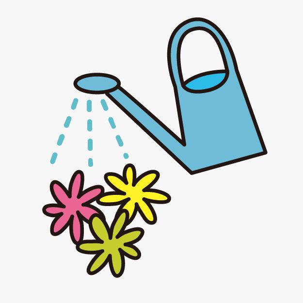 Hubsche Madchen Mit Der Giesskanne Cartoon Giesskanne Blumen Giessen