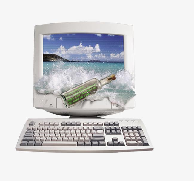 белый старый компьютер цифровой цифровой продукции науки и техники