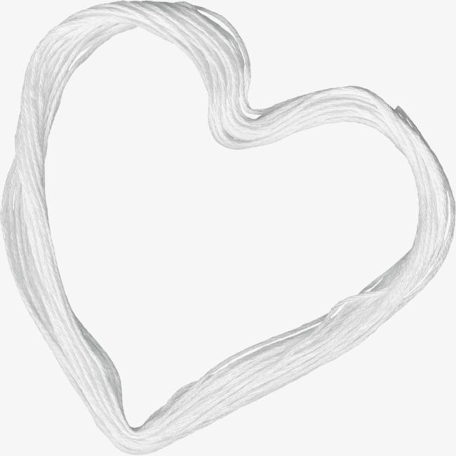 White Rope Peach Heart Rope Clipart Peach Clipart Heart Clipart