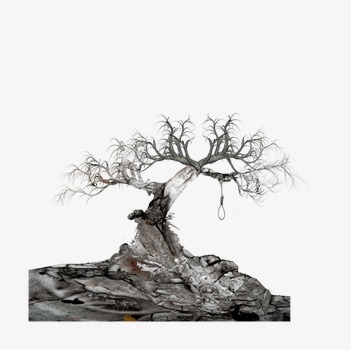 L arbre dess ch de l arbre fl trissement sombre image png - Dessin sombre ...