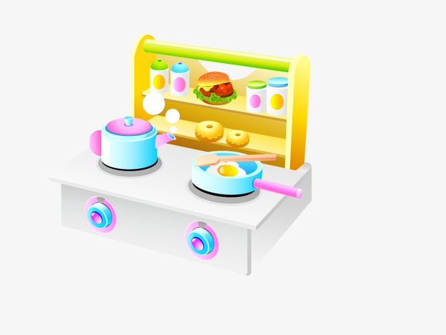 Yellow Children S Toys Kitchen Clipart Saucepan Png Image And