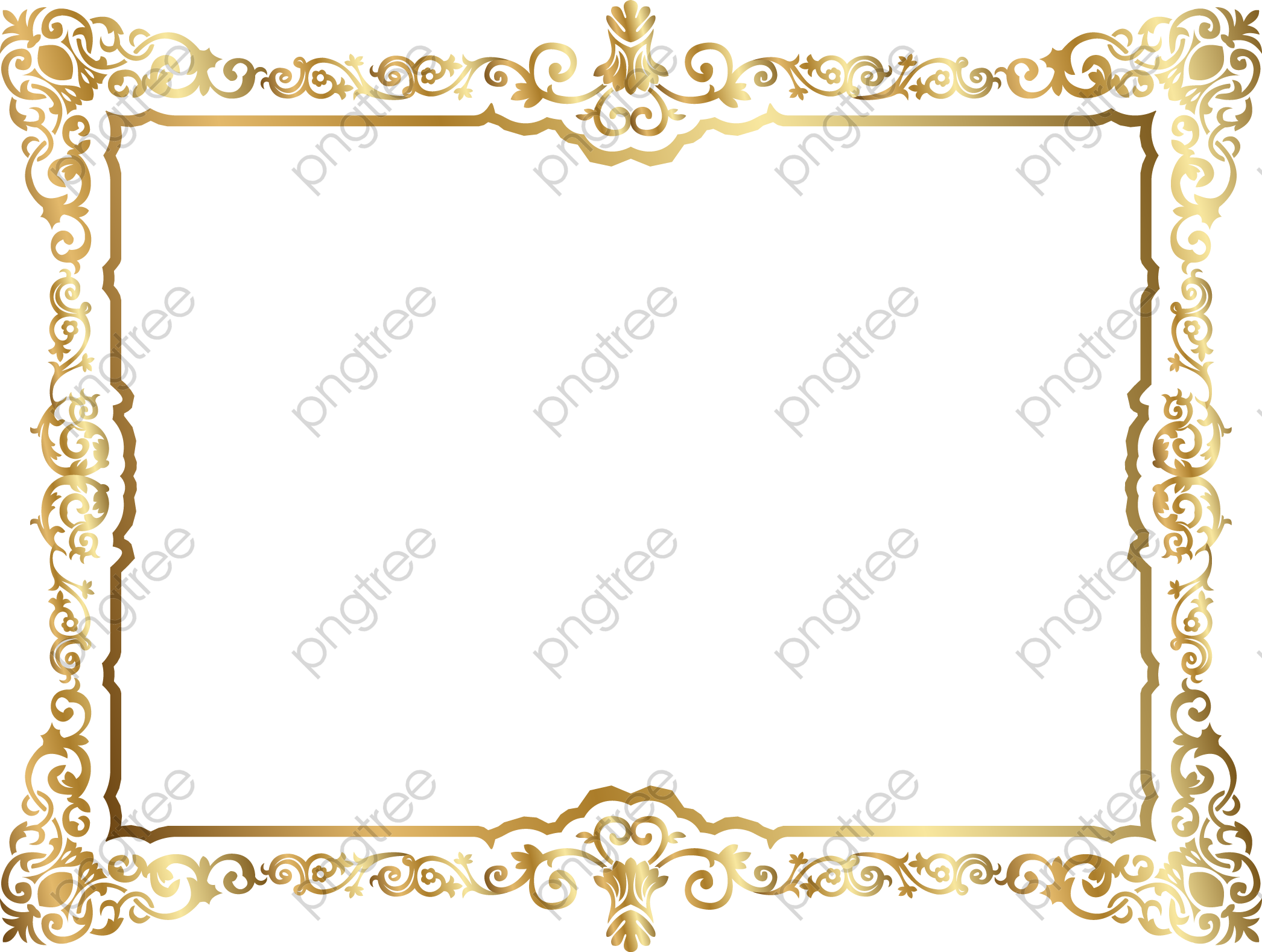 transparent certificate border png format image with size